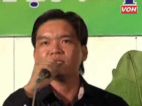 VOH Media   Thí sinh  Lê Minh Luân SBD  041 Chiều sông Lô Sáng tác  Ngô Hồng Khanh   Giang nam 8 câu   08 09 2012