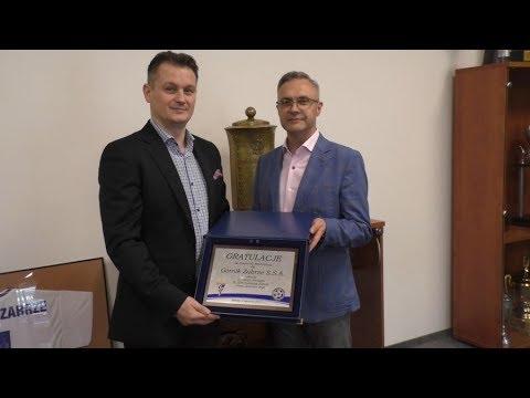 Górnik Zabrze uhonorowany z okazji awansu do Ekstraklasy