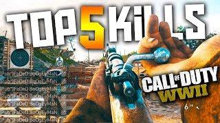Call of Duty: WW2 - TOP 5 KILLS OF THE WEEK #4
