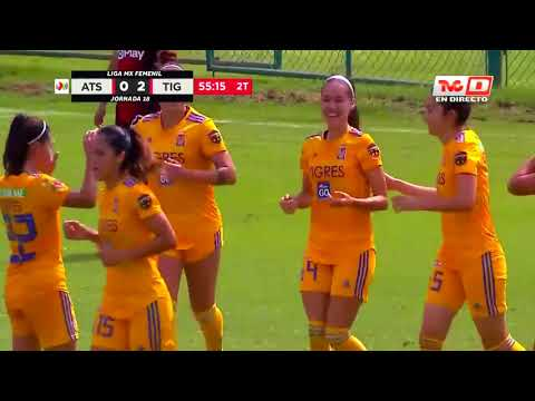 Resumen | Atlas Femenil 1 - 4 Tigres Femenil | Apertura 2019  - Jornada 18 | LigaBBVAMXFemenil
