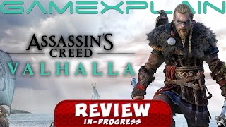 Assassin's Creed Valhalla REVIEW In Progress - A Step Down from AC Odyssey? (Video Game Video Review)
