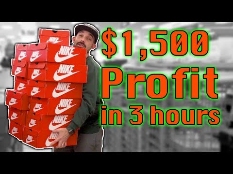 $1500-profit-buying-nike-shoes-to-sell-on-amazon-fba-|-ride-along