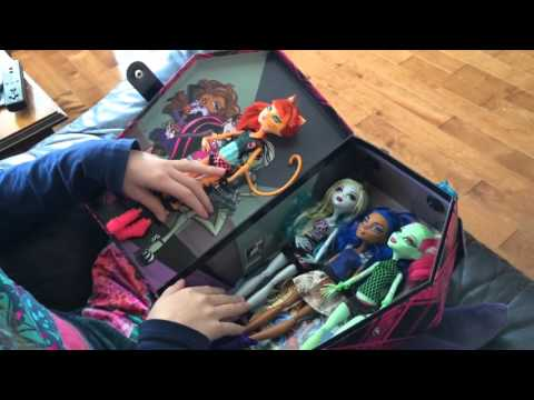 ma valise monster high justine letourneau