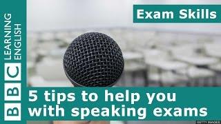 امتحان المهارات: 5 نصائح تساعدك في التحدث الامتحانات