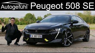 new Peugeot 508 PSE 360 hp flagship Hybrid 508 SE FULL REVIEW Peugeot Sport Engineered