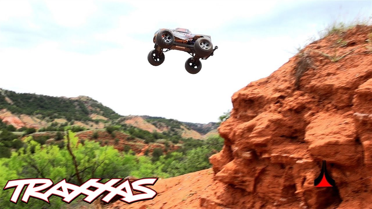 Canyon Carving with TSM - Traxxas Rustler VXL, Bandit VXL, and Stampede VXL