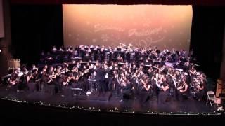 Warren H. S. Instrumental Music Annual Winter Concert 12/13/2015