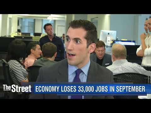 Economy Sheds 33,000 Jobs in September, but Wage Growth Tops Estimates