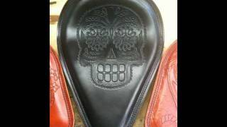 Video Anvil Customs Recent Leather Chopper/Motorcycle Seats & Chain Wallets & NEW TATTOO! download MP3, 3GP, MP4, WEBM, AVI, FLV Agustus 2018