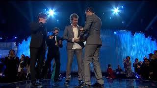 a-ha vinner pris for Tidenes VG-listelåt (Spellemannprisen 2008)