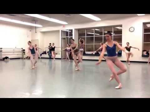 Nevada Ballet Theatre rehearses 'Nutcracker'