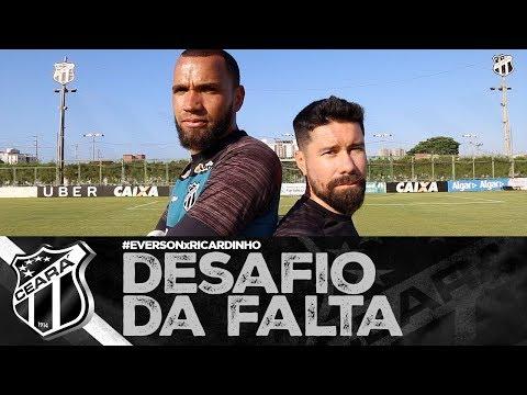 DESAFIO DA FALTA Everson x Ricardinho  Vozão TV