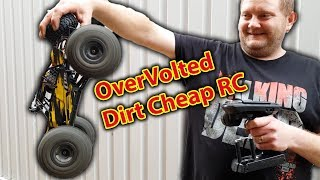 8S Steves Crazy OverVolted Cheap RC Car
