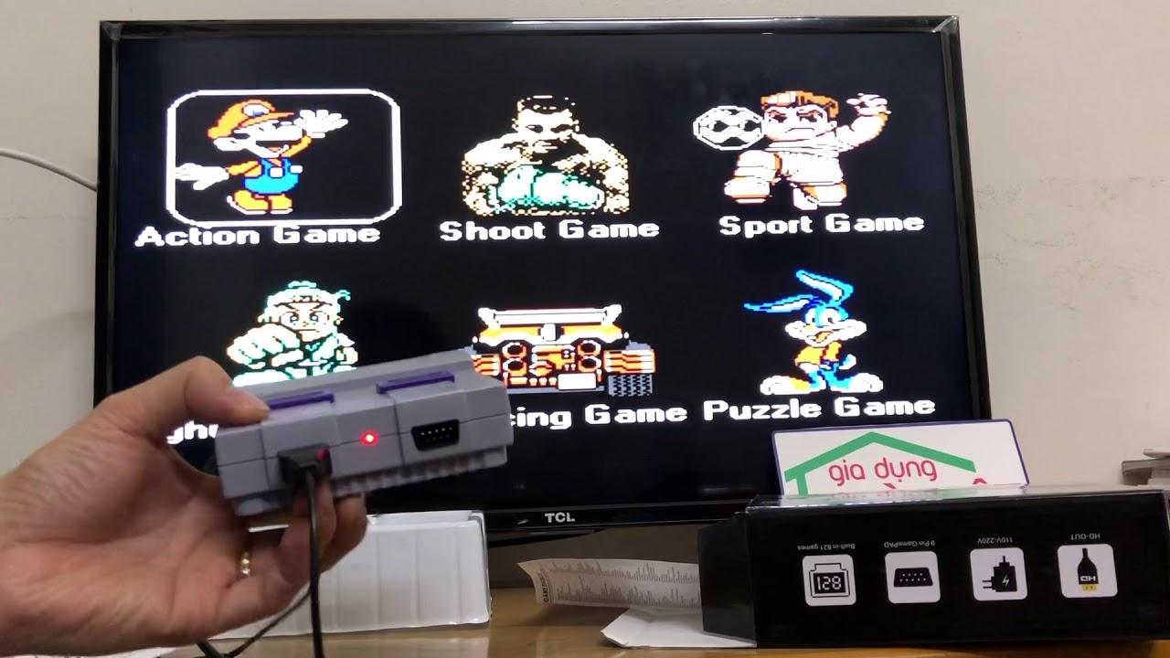 Máy chơi điện tử 4 nút Super Mini HDMI NES 821 trò chơi
