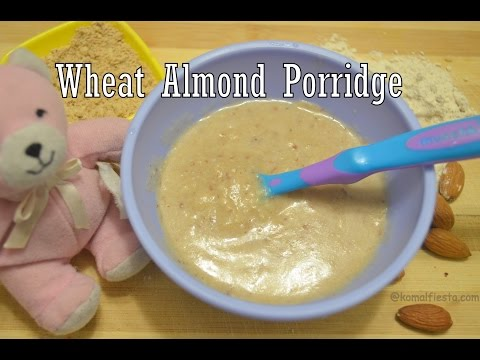 Baby Food recipe |Wheat Almond home made powder/Porridge | 6+ months baby recipes