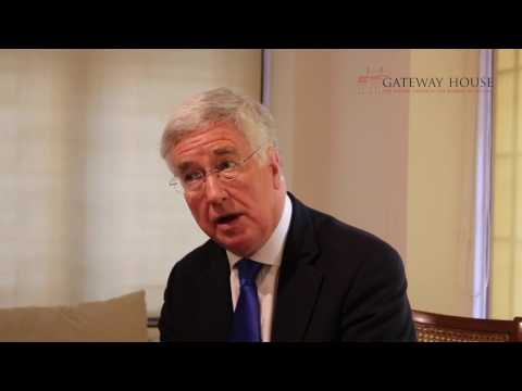 Interview with Sir Michael Fallon, Secretary of State for Defence, UK