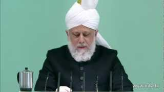 Bosnian Friday Sermon 9th March 2012 - Islam Ahmadiyya