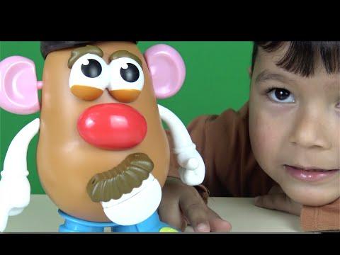Bay Patates Kafa Konuşuyor Ve şarkı Söylüyor Playskool Potato Head Movin' Lips Eğlenceli Oyuncak