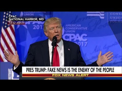 Almost Half The Country Believes Trump Is Right About Fake News