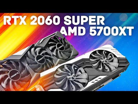 GeForce RTX 2060 Super Vs AMD RX 5700 XT - Большое Сравнение в Новых Играх