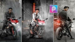 PicsArt Bike Photo Editing like Vijay Mahar 🔥|| Instagram Viral Editing || AC EDITING ZONE