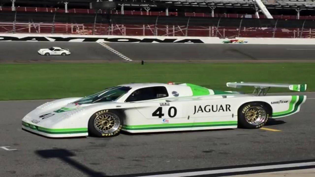 Jaguar XJR-5 GTP Classic Daytona 24hr 2015 - YouTube