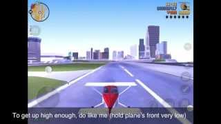 GTA 3 IOS/Android how to fly with plane (dodo)