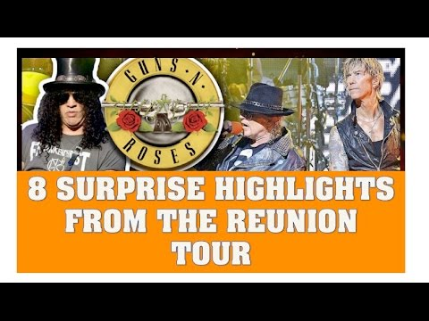 Guns N' Roses  Top 8 Not In This Lifetime Tour Moments