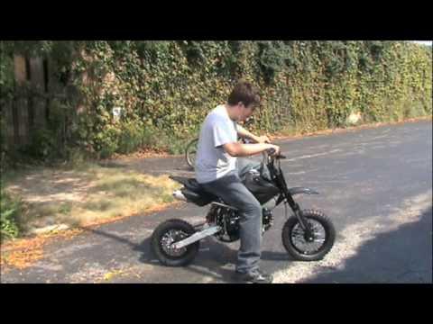 FOR SALE! Black 125cc Pit Bike With Clutch