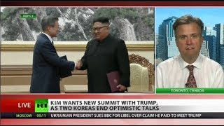 Two Koreas Talk: Moon Says Kim Wants New Summit with Trump