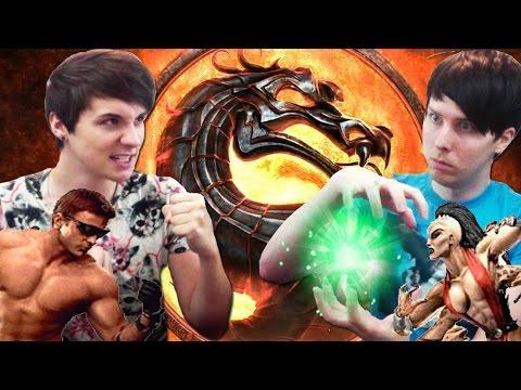 BUTTON BASHING PROS - Dan vs. Phil: Mortal Kombat Trilogy