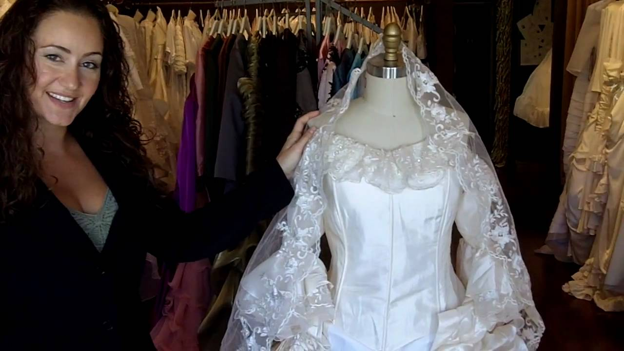 Marie Antoinette Wedding Dress - YouTube