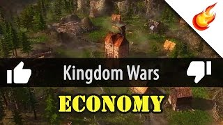 KINGDOM WARS - First Impressions Gameplay - Pt 1: Economy