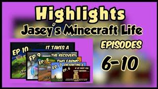 Highlight Reel, ep 6-10, Jasey's Minecraft Life, Survival LP, Bedrock Edition, XboxOne