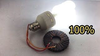 New Awesome Free Energy Generator Using Copper Wire 100% For New Ideas 2019