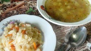Постная кухня: Капуста по-монастырски и Бедняцкая уха.