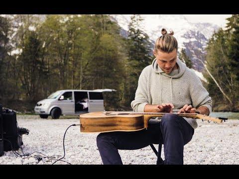 Roads - Simeon Baker   Laptap Percussive Guitar   Guitar Course In Description