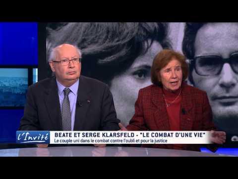 """Serge et Beate KLARSFELD : """"Notre vie pour la justice"""""""