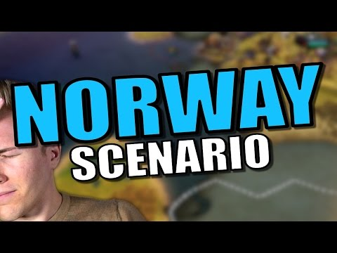 Civ 6: Norway Gameplay / Let's Play [Civilization 6 Scenario] Civ 6 Viking Strategy - Part 2 |