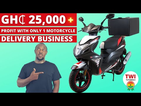 How To Start a Profitable Metro Delivery Business in Ghana Using Motorcycles. Process & Costings