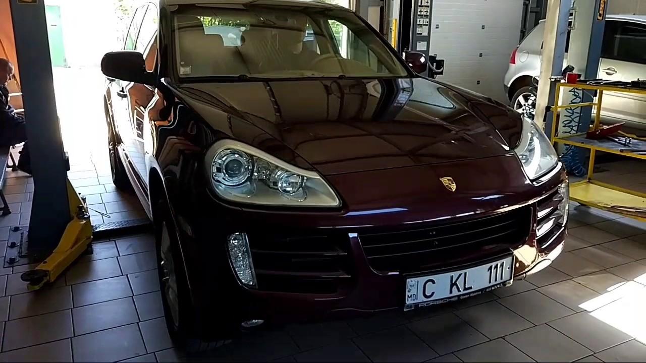 Porsche Cayenne S   замена масла.
