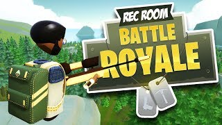 REC ROYALE (Rec Room) Like FORTNITE but in Virtual Reality