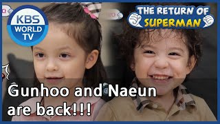 Gunhoo and Naeun are back!!! [The Return of Superman/ ENG / …