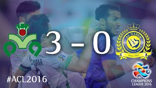 ZOBAHAN vs AL NASSR: AFC Champions League 2016 (Group Stage) 2017 Video