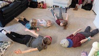 KIDS BABY YOGA CHALLENGE!!