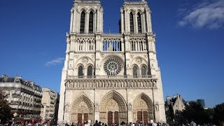 My first visit to Notre Dame Cathedral in Paris, France