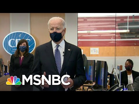 'Science Is Back': Biden Thanks CDC For Efforts Amid Covid Pandemic | MSNBC