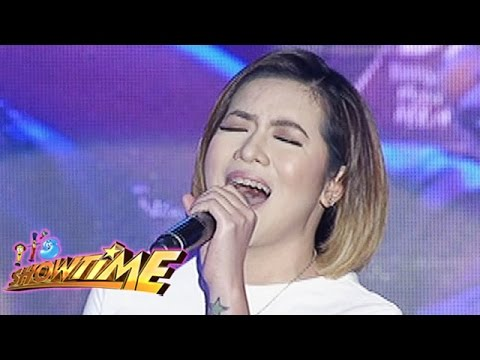 It's Showtime Singing Mo 'To: Angeline Quinto sings
