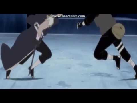 Бой Какаши против Обито под музыку