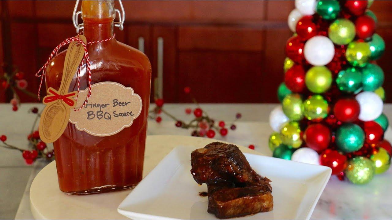 DIY Edible Christmas Gifts: Ginger Beer BBQ Sauce - Kena Peay (Day 4 ...
